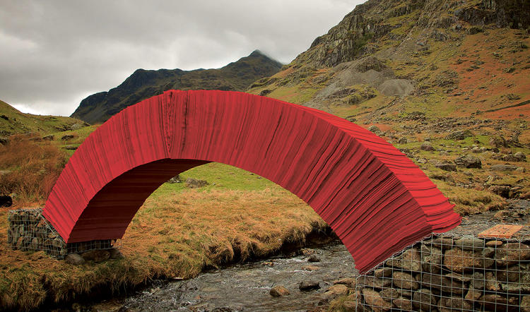 <p>Paper Bridge, Steve Messam; Cumbria, United Kingdom.</p>