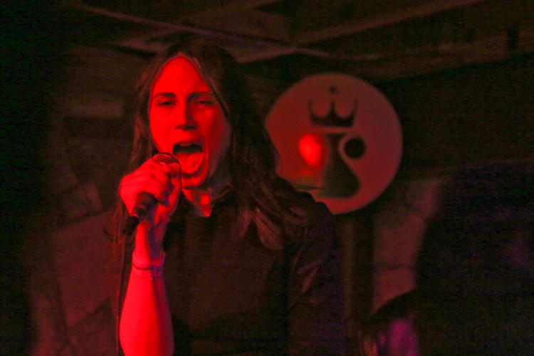 <p>Consumer Electronics performs at The Sidewinder bar in Austin following a satanic ritual.</p>