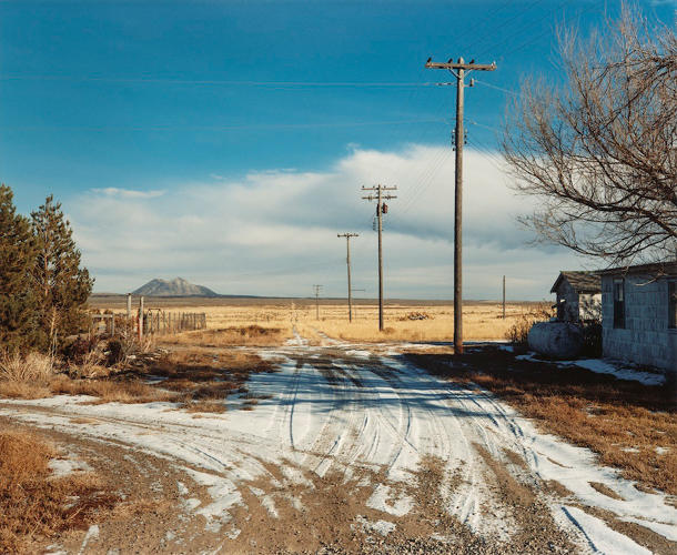 <p>View toward East Butte, Atomic City, Idaho, 1986. © 2016 David T. Hanson</p>