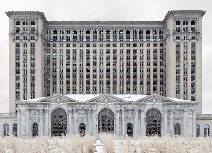 <p>Depot (Michigan Central Station), 2012.</p>