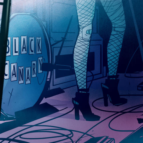 <p>A page from <em>Black Canary</em> Vol. 1 by Annie Wu</p>