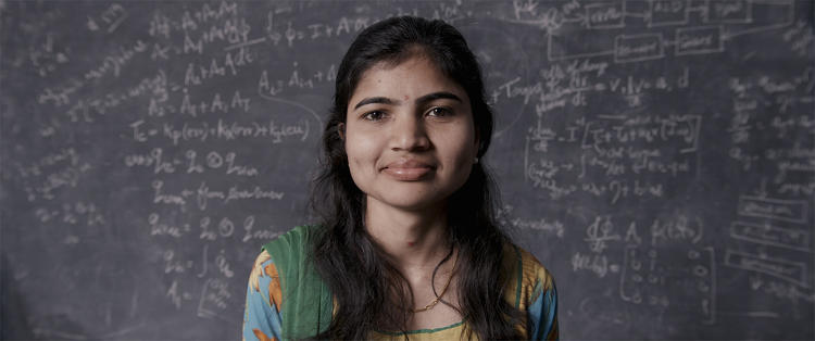 <p><strong>Deepana Gandhi</strong>, from the Bangalore-based Google Lunar XPrize team, Team Indus</p>