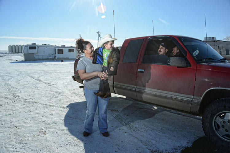 <p>A family from Utah that moved to Wheelock, ND to work in the oil industry.</p>