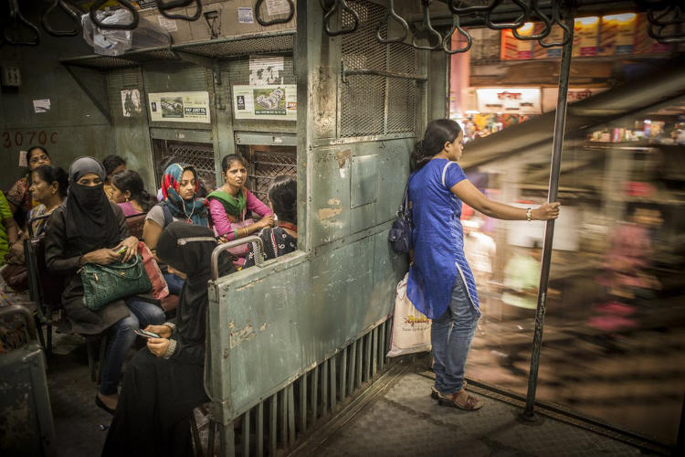 <p>Every day millions of people make use of the suburban trains in Mumbai. Almost every train has separate compartments for women to avoid sexual abuse.</p>