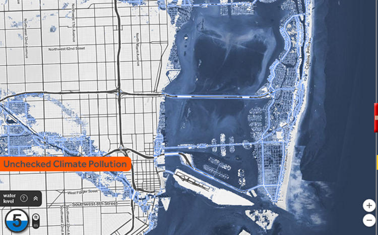 look how much of your city will be underwater2100 (so