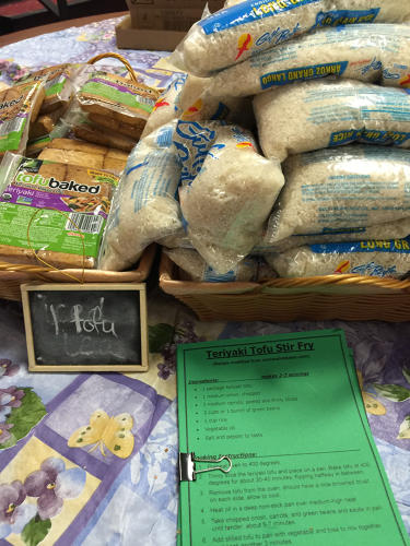 <p>The program stems from a &quot;backpack program&quot; that helped make sure that kids in the reduced-lunch program had something to eat over the weekend.</p>