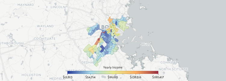 <p>An income map of Boston, from the Data USA project.</p>