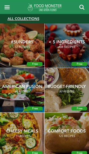<p>A new app called Food Monster is designed to make vegan food a little more tempting.</p>
