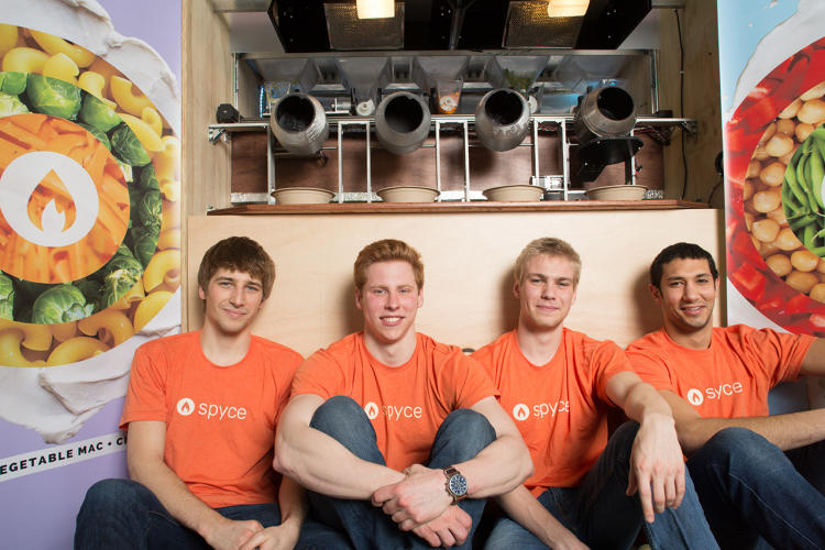 <p>Kale Rogers, Michael Farid, Braden Knight and Luke Schlueter, MIT</p>