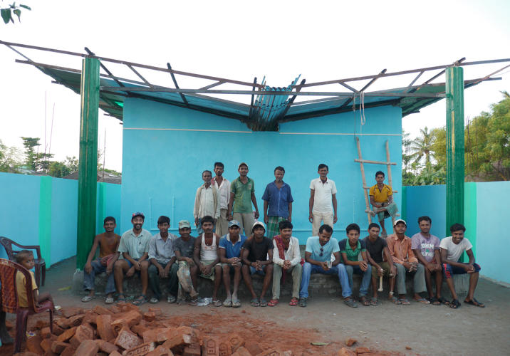 <p>SHRI, formerly called Humanure, has a solution it thinks can help. It builds a 16-toilet community block with a big collection tank underneath.</p>