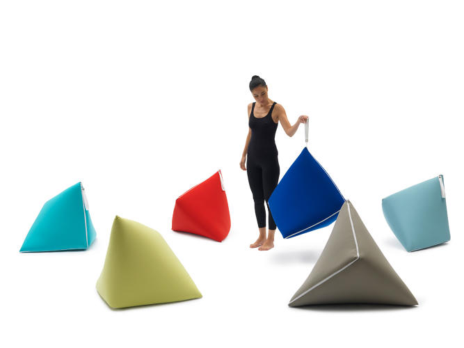 <p>The Tou by <a href=&quot;http://sakurah.net/&quot; target=&quot;_blank&quot;>Sakura Adachi</a> is a beanbag chair that unzips to become a futon and holds a pillow and blanket.</p>