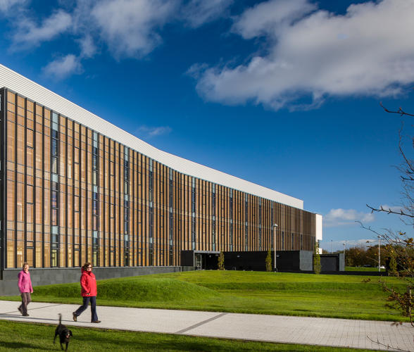 <p>The AIA's best new green buildings of 2016.</p>  <p>Biosciences Research Building</p>