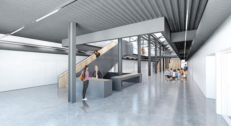 <p>Built in old warehouses in the city's Dogpatch neighborhood, the complex was also able to keep costs lower because it's in an area that's zoned for light industry.</p>