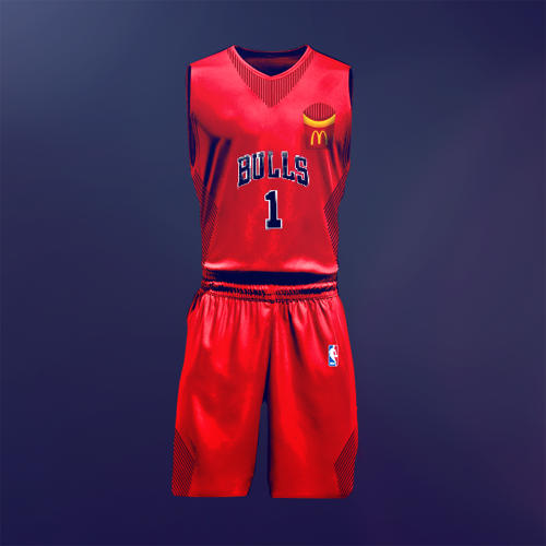 <p>Chicago Bulls and McDonald's.</p>