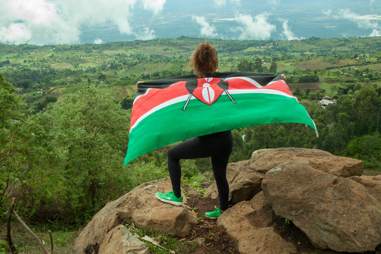 <p>It's a nod to Kenya's barefoot running style that has become popular in the last few years.</p>