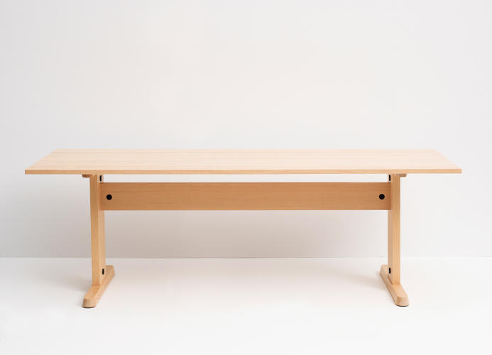 <p>Trestle table by Studio Gorm</p>