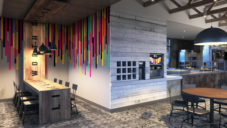 <p>Taco Bell has figured out how to scale luxury by reskinning it (this is Modern Explorer).</p>