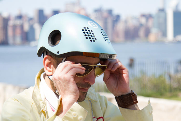<p>It's not the first helmet to incorporate tech like signals or cameras, but the designers may be the first to incorporate so many features at once.</p>
