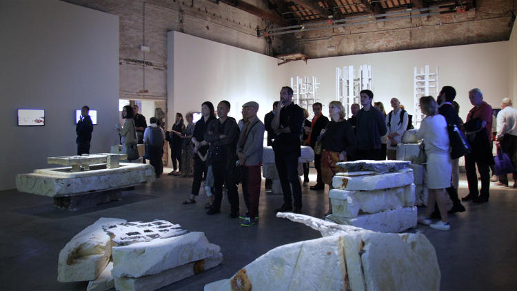 <p>Structures of Landscape Installation by Ensamble Studio in Arsenale at Venice Architecture Biennale 2016</p>