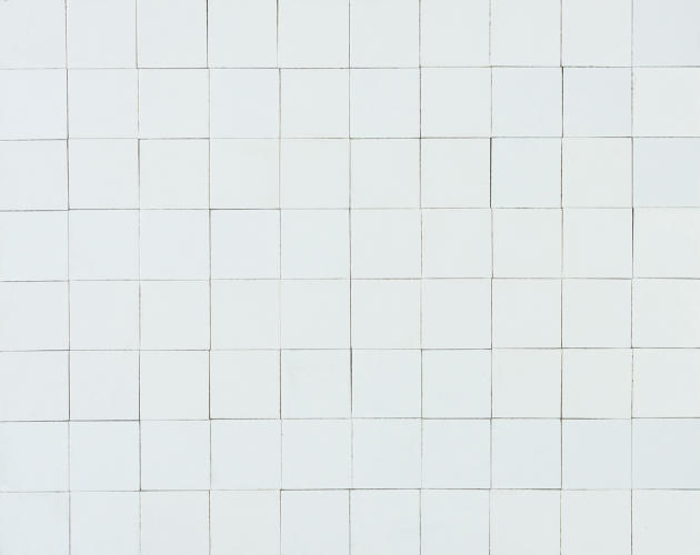 <p>Eero Saarinen's mosaic used just white tiles--unique amongst the study subjects.</p>