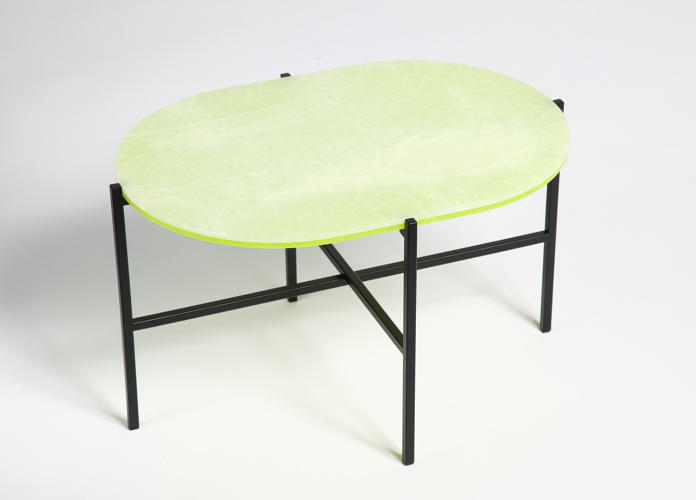 <p>Neon table for Haymann Editions</p>