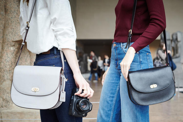 <p>The Claremont bag ($300) is designed to accommodate a DSLR camera.</p>