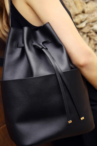<p>Bucket Bag ($375). Cuyana's bags are designed to be long-lasting and versatile.</p>