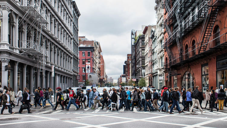 <p>The most walkable U.S. cities of 2016<br /> 1. New York City</p>