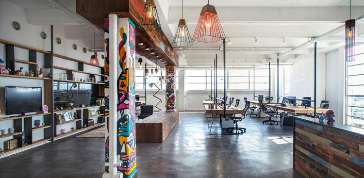 <p>At Israeli gaming company Jelly Button and Hamutizm, employees can alternate between a large central common area and semiprivate office spaces.</p>