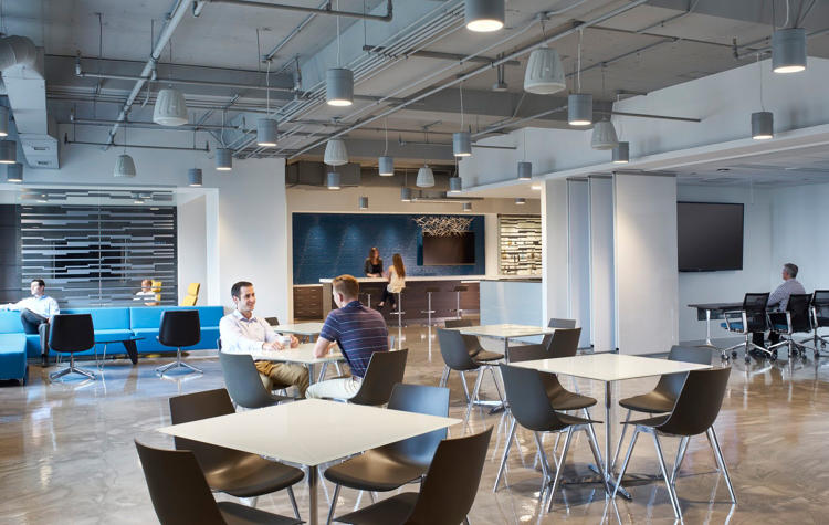 <p>Company leadership believes the space is helping to increase energy and idea sharing in the office and help prevent office fatigue.</p>
