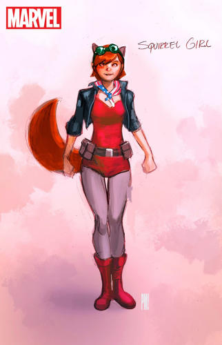 <p>The unbeatable Squirrel Girl</p>