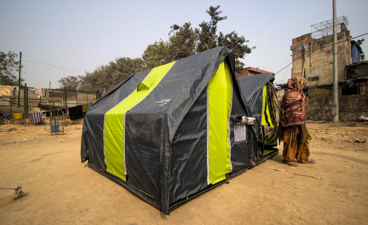 <p>It has enough room for a family of five, and can help keep families together who might otherwise be separated at city-run shelters.</p>