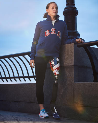 <p><strong>Melissa Stockwell</strong> for Polo Ralph Lauren</p>