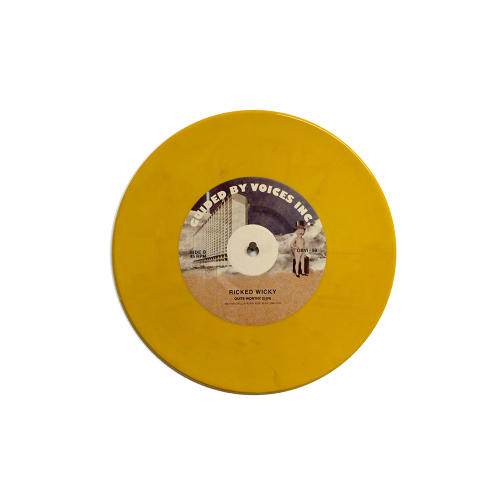 <p>Here's an opaque banana yellow record.</p>