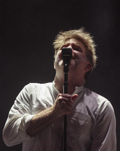 <p><strong>James Murphy</strong> of LCD Soundsystem</p>