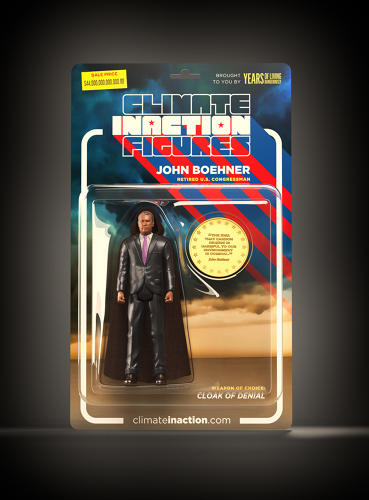 <p>Former House Speaker John Boehner is one of the set of climate inaction figures.</p>