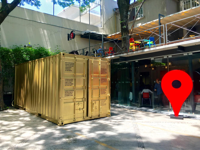 <p>The Portals are part of a growing art project designed to bridge national and cultural divides.</p>