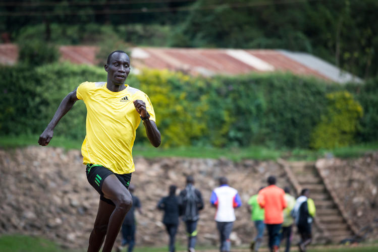 <p>South Sudanese refugee James Nyang Chiengjiek will compete in the 400-meter run.</p>