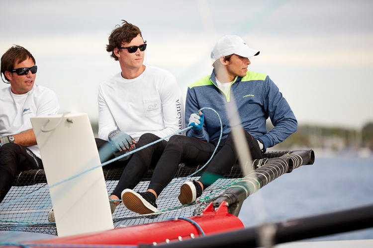 <p>Vineyard Vines, which has managed to avoid the decline suffered by many companies in its category.</p>