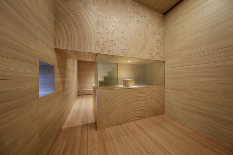 <p>A collaboration between Toppan Printing and HARA Design Institute, the Woodgrain house is made from printed laminates.</p>