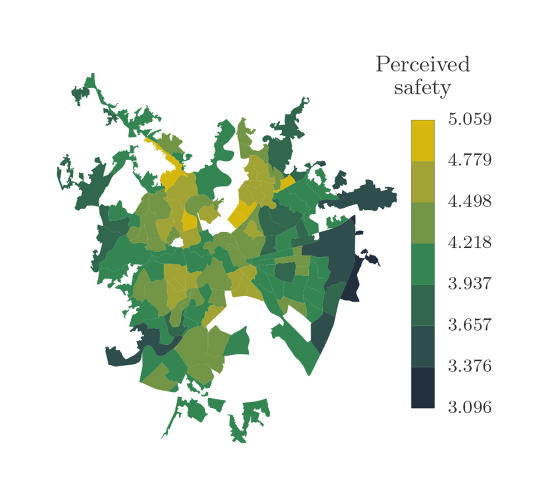 <p>The perceived safety of Rome.</p>
