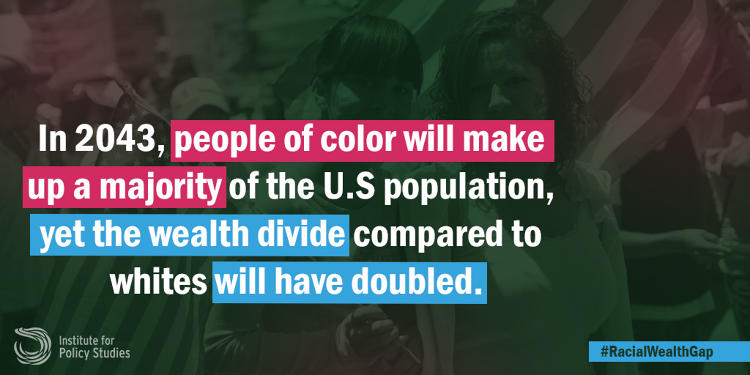 <p>Despite the progress of the civil rights movement, white households have been pulling away from households of color for decades.</p>