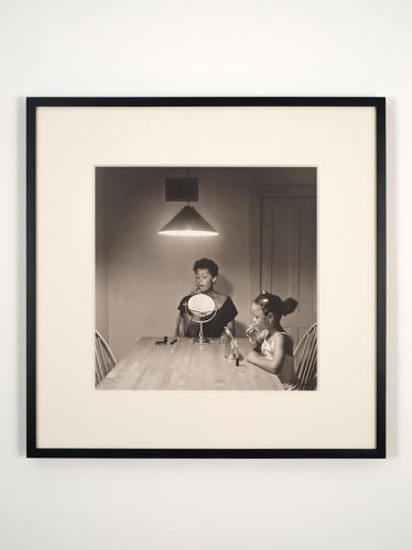 <p>Carrie Mae Weems, <em>Untitled (Woman and daughter with makeup)</em>.</p>