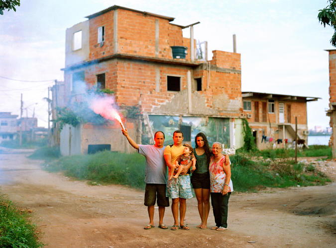 <p>Bruno and his family have stayed in their home, despite a recent effort by the city to invoke 'Imminent Domain' to evict the last residents here.</p>
