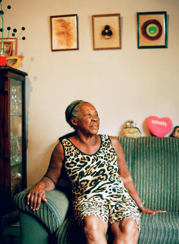 <p>Bene resisted evictions and vowed to never leave the home she built and raised nine children in.</p>