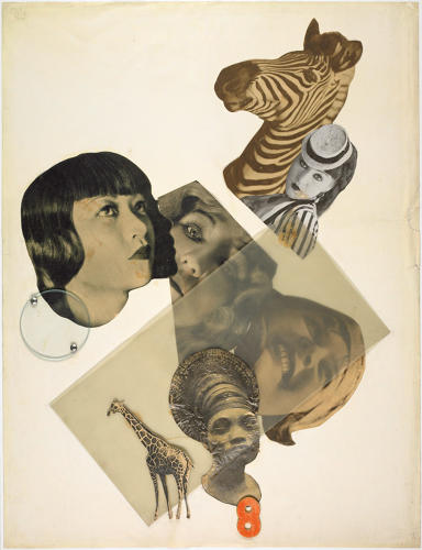 <p>Marianne Brandt, Untitled [with Anna May Wong], 1929. Photomontage of newspaper clippings with glass, celluloid and metal on off-white cardboard. Harvard Art Museums/Busch-Reisinger Museum, Purchase through the generosity of the Friends of the Busch-Reisinger Museum and their Acquisitions Committee, Richard and Priscilla Hunt, Elizabeth C. Lyman, Mildred Rendl-Marcus, and Sylvia de Cuevas, 2006.25.</p>