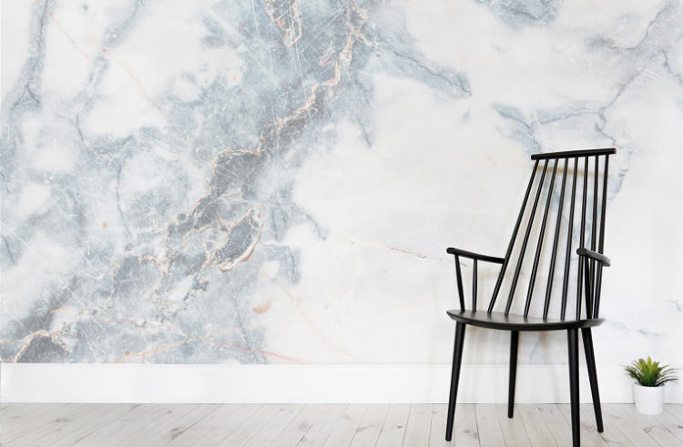 <p>Murals Wallpapers' latest collection features marble-print wallpaper captured through HD photography.</p>