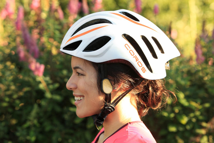 <p>I had the chance to try a new bike helmet, called LInx, that plays music, navigation, or phone calls through bone conduction.</p>
