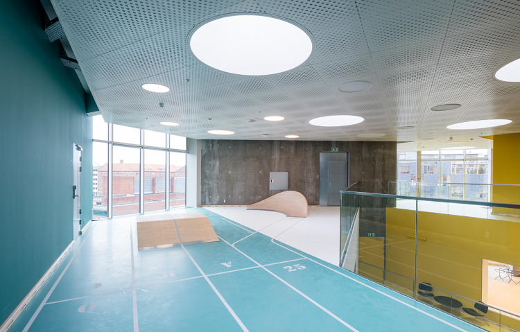<p>Some of the design elements might work in other types of buildings--such as offices trying to convince employees to be more active.</p>