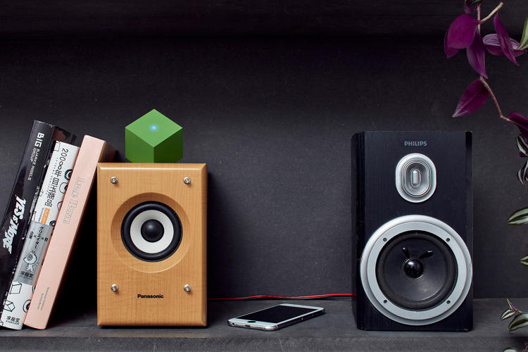 <p>The Vamp Stereo is an upgraded version of the Vamp, which Cocksedge, a London-based product designer, invented in 2013.</p>